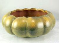 Gonder Pottery E 12 Lobed Console Bowl Planter Early Mark 1940s Organic USA