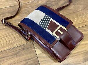 Nikon CB-1 Vintage 1980's Leather Shoulder Camera Bag Case Great Condition