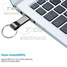 32 16GB Metal Keychain Key Ring USB Flash Drive Memory Stick Pendrive U Disk