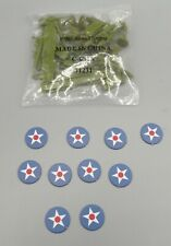 Axis & Allies Board Game US American Replacement Army Unit Parts Pieces