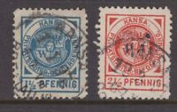 Germany 2 x private post stamps