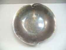 Vintage Silverplated Serving Dish Tray Bowl Hugo Grun Prima Made in Denmark