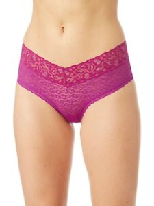 No Boundaries Women's All Over Lace Hipster Panties Size SMALL (5) Purple W Gold