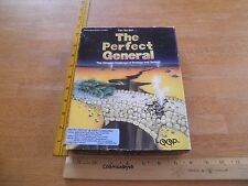 "The Perfect General tanks computer game IBM 5.25"" in box PC with books"