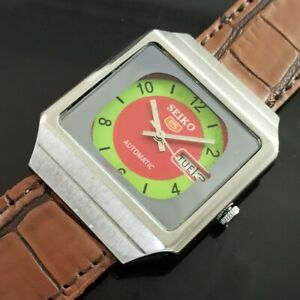 OLD VINTAGE SEIKO 5 AUTOMATIC JAPAN MENS DAY/DATE WATCH 467b-a234716-4