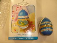 Easter Egg Surprise Hallmark Keepsake Ornament 1999 rubber duck water trinket