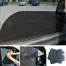 3CA8 2Pcs Car Window Side Sun Shade Cover Block Static Cling Visor Screen Black