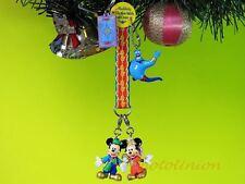Dekoration Ornament Xmas Tree Disney Mickey Mouse Genie Aladdin Jasmine *N24