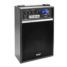 "NEW Pyle PWMAB250BK 300W Bluetooth 6.5"" Portable PA Speaker System AM/FM Radio"