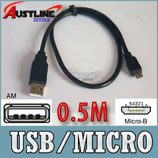 0.5M USB 2.0  A to Micro B 5pin M/M cable for Mobile Phone MP3