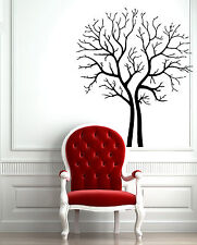 Wall Sticker Vinyl Decal Family Tree Floral Decor z571