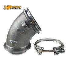 HE351CW Turbo Turbine Exhaust Elbow + Clamp 04.5~07 Dodge Ram 2500 3500 ISB 5.9L