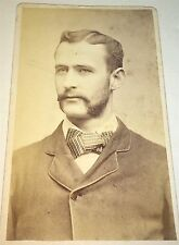 Rare Antique Philadelphia College of Pharmacy Charles T. Shewell! PA CDV Photo!!