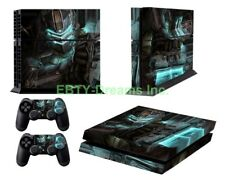 Dead Space 3 Video Game Isaac Clarke Vinyl Skin Sticker Decal Protector for PS4