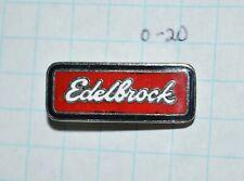 "Edelbrock Specialty Auto Parts Racing Advertising Logo 1"" Lapel Pin"