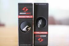 Gearbox Racquetball Black Balls 2 boxes of 3-balls box balls, a total of 6 balls