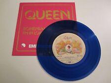 """Queen - Bohemian Rhapsody Blue Vinyl 7"""" Single Repro"""