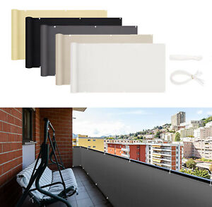 Fence Privacy Screen Windscreen Cover Sun Shade for Balcony Porch Deck Patio