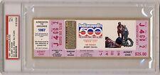 1987 Indianapolis Indy 500 Ticket PSA