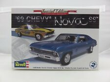 Revell '69 CHEVY NOVA SS Special Edition 2'n1 1/25 Model Kit UNBUILT *NO DECALS*