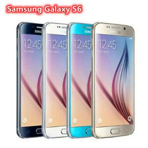 Samsung Galaxy S6 G920F G920A 32GB (Unlocked) Smartphone Black Gold Blue