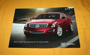 Cadillac ATS 2012 Prospekt Brochure Prospetto Catalog Folder Broschyr
