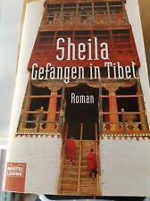 Sheila. Livre La Captive. En allemand. Rare.