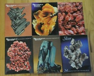 THE MINERALOGICAL RECORD  1986 Vol. 17 6 issues the complete year
