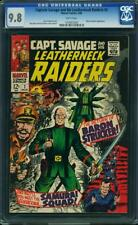 CAPTAIN SAVAGE AND HIS LEATHERNECK RAIDERS #2 CGC 9.8 HIGHEST GRADED 1 OF 2!