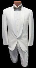 5B Boys White Shawl Tuxedo Dinner Jacket Ringbearer Wedding Formal Cruise