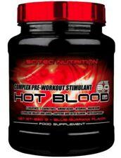 SCITEC NUTRITION HOT BLOOD 3.0 pre workout 300G - Blue Guarana flavour