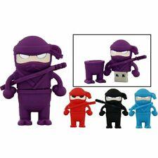 Ninja Card Cartoon USB Flash Drive Thumb USB Memory Stick U Disk Pen Drive 4-64