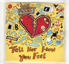 (HM168) The Assist, Tell Her How You Feel - 2016 DJ CD