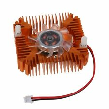 Video Card 12v 2pin 55mm Computer PC Cooling Cooler Fan Snowpear Heat Sink