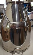 90 lbs Stainless Steel Milk Can, Heavy Duty (10 Gallons) Brand New 90#