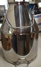 90 Lbs Stainless Steel Milk Can Heavy Duty 10 Gallons Brand New 90