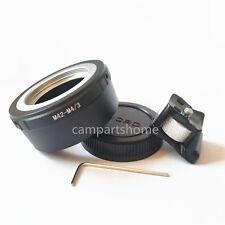 Tripod M42 Lens to Micro 4/3 M4/3 EP1 EPL5 G1 G10 GF1 GX7 GH1 GH4 G5 Adapter CAP