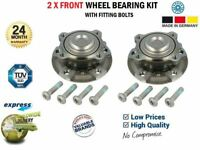 2x Front WHEEL BEARINGS for BMW 2 Cabrio F23 220 i 2015->
