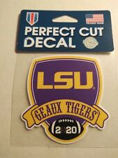 2020 COLLEGE NATIONAL CHAMPIONSHIP  LSU Decal - fr. tip