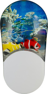 Aqualites 10908 Tropical Fish LED Night Light, Plug-In, Color Changing, Light of