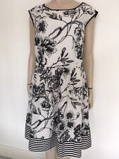 Size 20 fully lined black and white Dress - dress it up or down