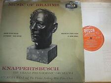 LXT 5394 Musica di Brahms/West/knappertsbusch O/S