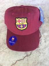 FC BARCELONA SOCCER TEAM COLLECTION ADJUSTABLE HAT CAP