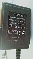 UK MAINS AC 9v adapter model hka 0930ec-230k
