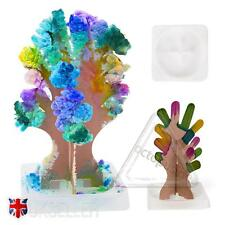Magic Growing Christmas Crystal Tree Paper DECORATION Science Toy Kit ENFANT