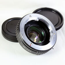 Focal Reducer Speed Booster Adapter Minolta MD mount lens to Micro 4/3 M43 GX7