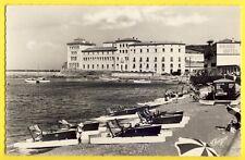 cpsm 66 - BANYULS sur MER en 1963 LABORATOIRE ARAGO GRAND HÔTEL Pédalos plage