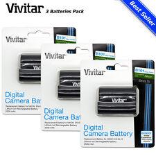 3x Vivitar EN-EL15 Battery for Nikon D7200 D7100 D810 D800 D750 D610 D600 D500
