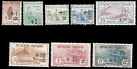 France #B12-B19 MLH CV$219.35 1922 Orphelins Surcharge Set