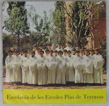 Escolania de les Escoles Pias de Terrassa 45 tours Espagne